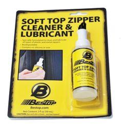 Bestop Jeep Soft Top Zipper Cleaner & Lubricant