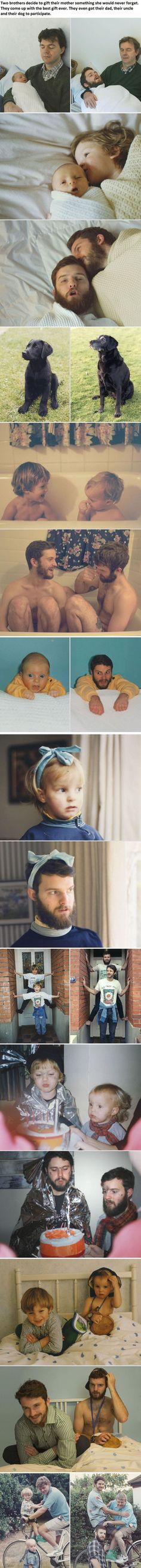 Two Awesome Brothers Come Up With a Brilliant Idea... | See more about family pictures, brother and pictures.