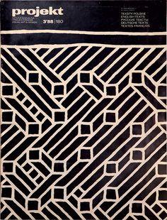 magazine cover by Lezsek Holdanowicz (1988)