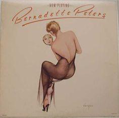 Bernadette Peters art by Vargas