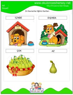 Turkish Lessons, Learn Turkish, Turkish Language, Special Education, Preschool Activities, Mobile App, Montessori, Crafts For Kids, Learning