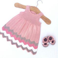 Ravelry: ManaKhQ's Chevron Dress