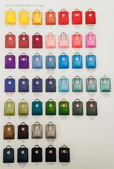 Fjall Raven Kånken New colors 2018 Vsco Outfits colors Fjall Kanken Raven Mochila Kanken, Mochila Do Bts, Cute Backpacks For School, Aesthetic Backpack, Kleidung Design, Birthday List, Birthday Ideas, Cute Bags, Jansport