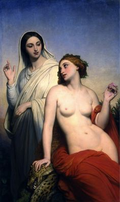 The Heavenly and Earthly Love, Ary Scheffer, 1850