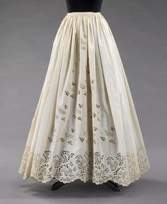 Petticoat  Date  1860–65