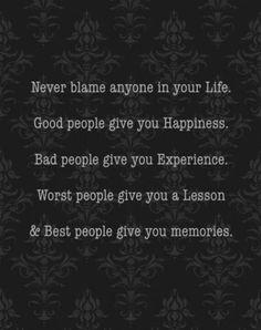 Never regret life