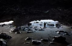 Cave Dweller  -  Mystic Beach, Vancouver Island, British Columbia, Canada