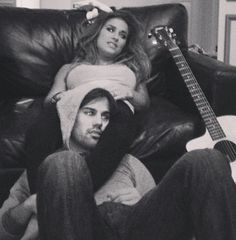Eric Decker and Jessie James