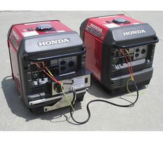 The Honda inverter generator offers 3000 watts of power with the convenience of electric start. The portable generator is ideal for home, RV, and more. Honda Generator, Diy Generator, Power Generator, Audi For Sale, Portable Inverter Generator, Used Audi, Heating Systems, Generators, Rv Camping