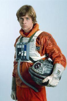 Luke Skywalker promo shot in X-Wing pilot outfit. Mark Hamill Luke Skywalker, Star Wars Luke Skywalker, Nara, Han Solo Hoth, Robin, Cuadros Star Wars, Star Wars Cast, Star Wars Pictures, Star War 3