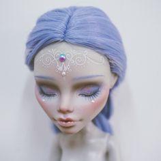 W Fine Porcelain China Diane Japan Custom Monster High Dolls, Monster High Repaint, Custom Dolls, Doll Eyes, Doll Face, Pretty Dolls, Beautiful Dolls, Ooak Dolls, Art Dolls