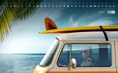 Календарь Июнь 2017