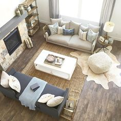 """Long day but we are done installing the house we furnished for @edgehomes for the @saltlakeparadeofhomes we'll call this look """"organic farmhouse"""" thanks to my great team for all their hard work!"""