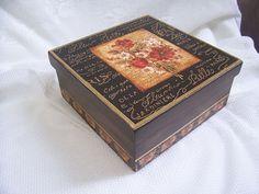 Caixa - lembrança para madrinhas 2 by Dag Lembrancinhas - Artesanato em madeira, via Flickr