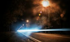 #Road #Night #Lights #Droga