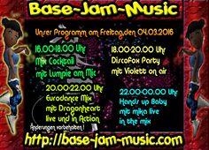 Freitag Party Spass und cooler Beat ,das alles gibt es nur auf http://base-jam-music.com Dein Sender für Musicpower