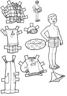 Kids Fun: Vacation Paper Dolls