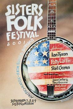 Art and Music: Award-winning illustrations, graphic design, and songwriting out of Sisters, Oregon. Festival Posters, Concert Posters, Cd Design, Folk Festival, Gumbo, Banjo, Concerts, Over The Years, Party Planning