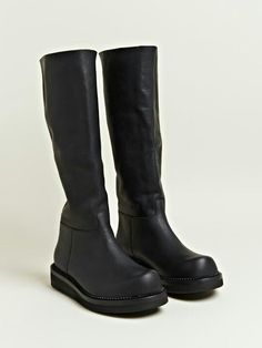 Damir Doma - Black leather boots
