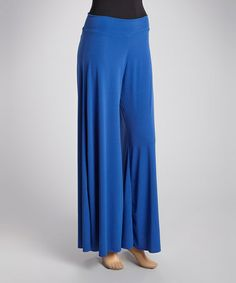 Another great find on #zulily! Royal Blue Palazzo Pants #zulilyfinds