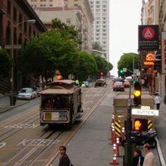 San Francisco, CA.  Powell Street.
