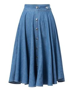 Denim Skirts for Teens and Women Knee Length Blue Skirts for Women Small. Medium and Large Blue Skirts