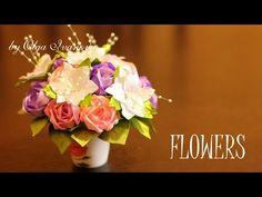 Цветы из Лент Своими Руками / Подарки на 8 Марта / Канзаши Мастер- Класс...