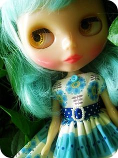 turquoise doll #blythe