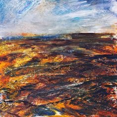 Twilight over the moors by Globalart - Use the 'Create Similar' button to commission an artist to create your own artwork. Painting & Drawing, Twilight, Create, Drawings, Artist, Artwork, Landscapes, Paintings, Inspiration