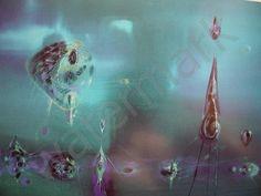 Spacetimewarp Portfolio Richard M Powers Richard Powers, Magazine Illustration, Science Fiction Art, Retro Futurism, Sci Fi Art, Cover Art, Illustrators, Abstract Art, Fan Art