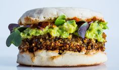 Stellar Quinoa Burger | 29 Things You Should Eat In February