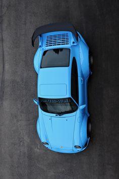 """utwo: """"Blue RWB © european auto source """""""