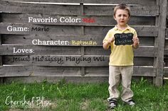 Yearly back-to-school photo idea - LOVE the wood backdrop for overlay!
