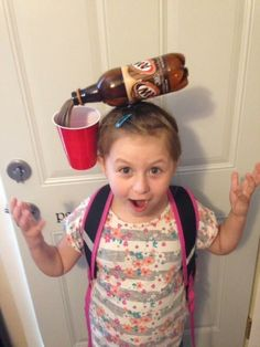This kid who really took Crazy Hair Day very seriously. | 18 Kids Who Took It To…