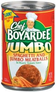 Save 75 On Four Chef Boyardee Canned Or Microwave Cup Pasta