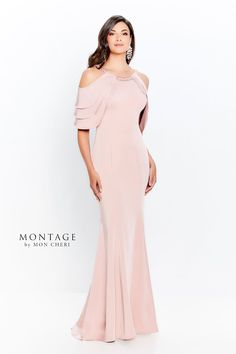 Mother of the Bride Dresses by Montage | Mon Cheri | Special Occasion Formal Wear for the Modern Mother Evening Gowns With Sleeves, Formal Dresses With Sleeves, Long Sleeve Evening Dresses, Mob Dresses, Types Of Dresses, Mother Of The Bride Fashion, Mother Of The Bride Dresses Long, Mother Of Bride Outfits, Mothers Dresses