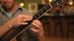 Two Hand Tapping Guitar: Simple Gifts