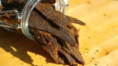 10 Best Beef Jerky Recipes From The Experts Lassi, Best Beef Jerky, Best Turkey Jerky Recipe, Jack Links Jerky Recipe, Korean Bbq Jerky Recipe, Smoked Beef Jerky, Venison Jerky, Brisket, Cheese