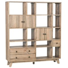 Sorrento Wall Unit Large - Bookcases - Furniture - Products  | Handcrafted & Sustainable Furnishings
