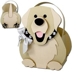 JMRush Designs: Labrador Retriever Dog Basket