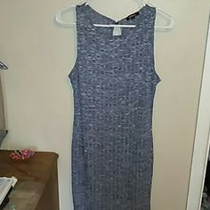 New Dress without tags. Never been worn, great shape, its very pretty and its fitted. Little below the knee. Its great for spring and summer and would look adorable with leggings, and a pair of sandals Ambiance Apparel Dresses Mini