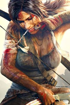 Lara Croft, Tomb Raider. I completed it, what a well paced and well made game it is, a very satisfying play through.
