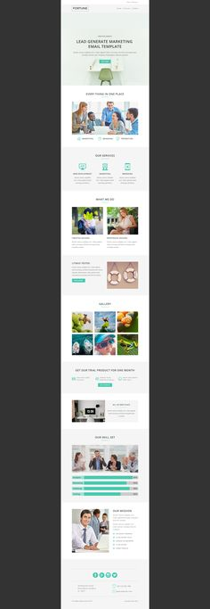 Design email template,html newsletter,html email campaign Email - office newsletter
