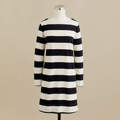 Stripes might be a fun alternative to the traditional bridesmaid's dress. Anchors away! http://maritimemuseum.novascotia.ca/