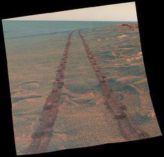 Mars via Opportunity