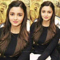 Alia Bhatt Hairstyles, Hairstyles For Gowns, College Hairstyles, Saree Hairstyles, Office Hairstyles, Open Hairstyles, Daily Hairstyles, Indian Hairstyles, Hairstyles Haircuts