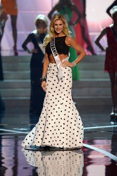 Miss Pennsylvania, Jessica Billings called the top of the 15 semifinalists for Miss USA 2013.