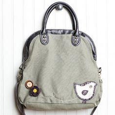 Viridian Feather Indie Fold-Over Crossbody Bag - $53.99