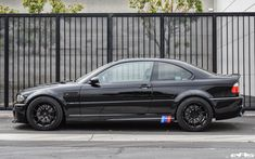 Here's at look at other wheel, the The sets modeled below are finished in Machine Black and just like the the is forged, lightweight, and features superior rigidity. Bmw Performance, E46 M3, Jet, Black, Black People