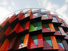 Офисное здание Kuggen (зубчатое колесо), Гётеборг, Швеция